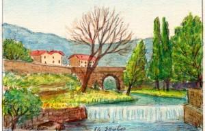 Le Pont à Soubès