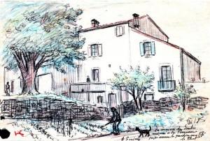 Le jardin et la maison d'Auguste Serieys