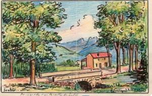 Route de Lodève.